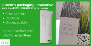 Packaging derivante dalle fibre del mais