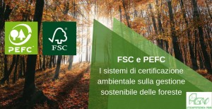 post certificazioni FSC e PEFC